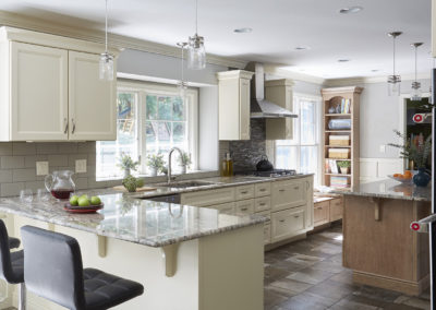 Eclectic Eat- In Kitchen