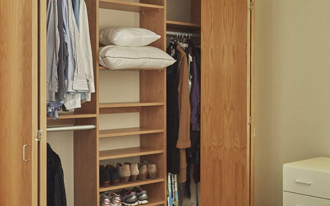 Small, Medium, and Large Closets