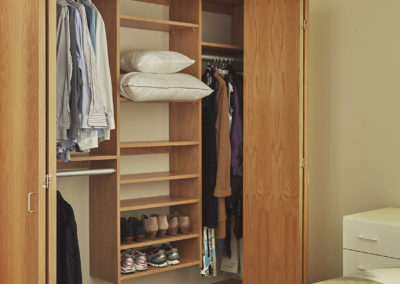 Small, Medium, and Large Closets